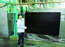 KBM処理:PTFEを主成分とする、艶消し黒色のフッ素コーティング